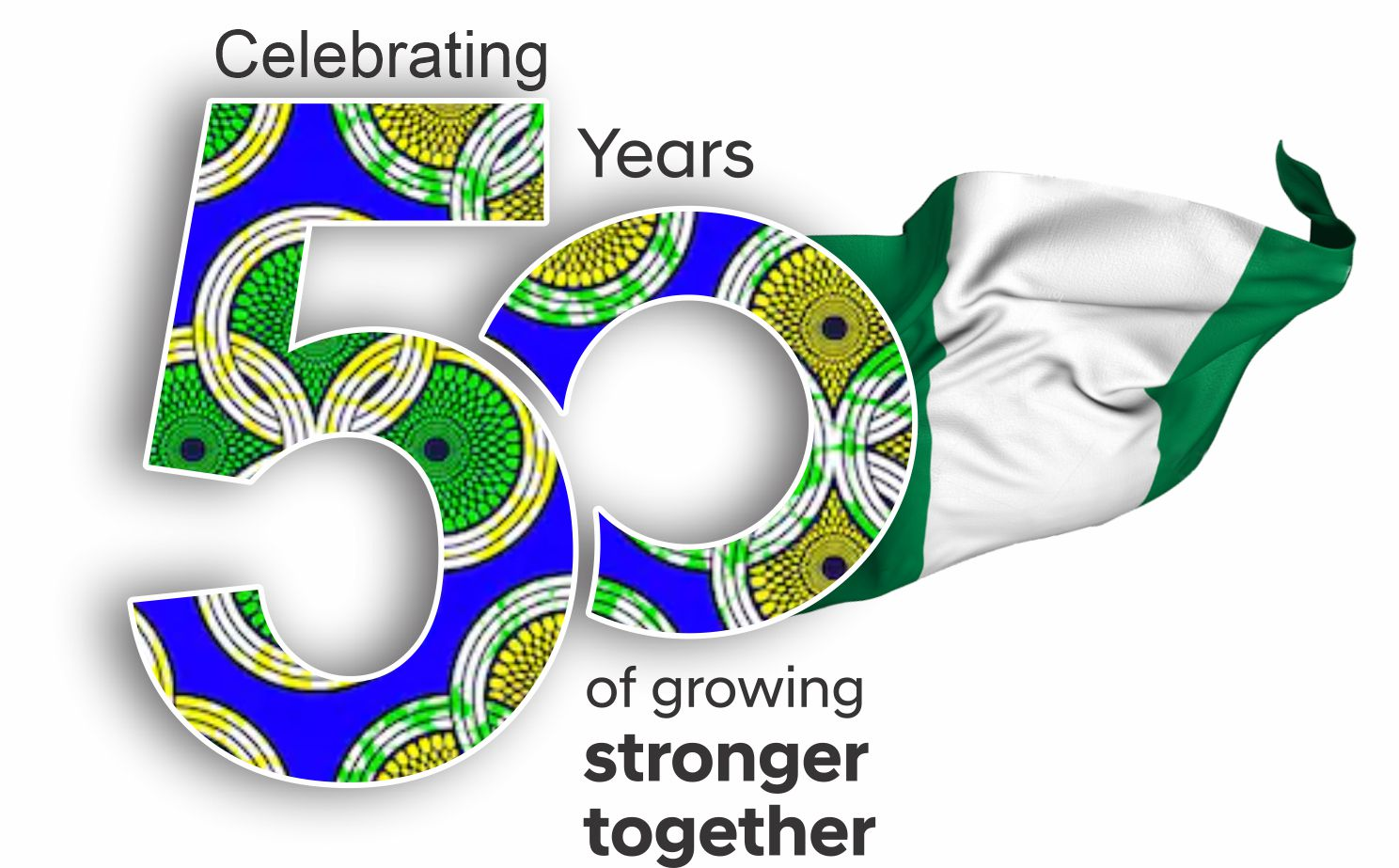 50years of Growing Stronger together 2