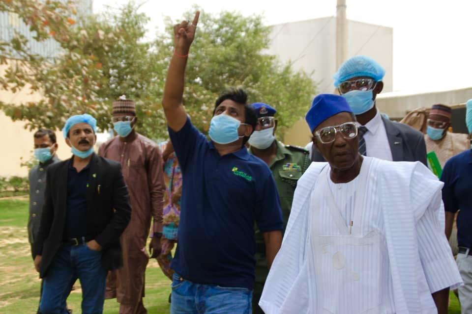 Honourable Minister Nanono visits Stallion Group Rice Mill